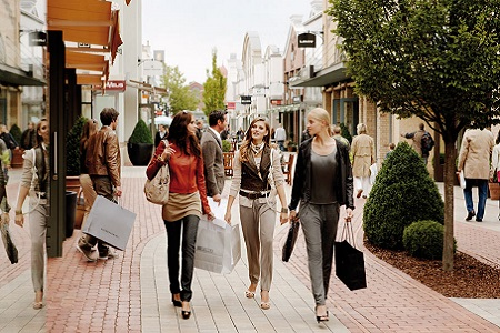 Designer Outlet Village в Ингольштадте